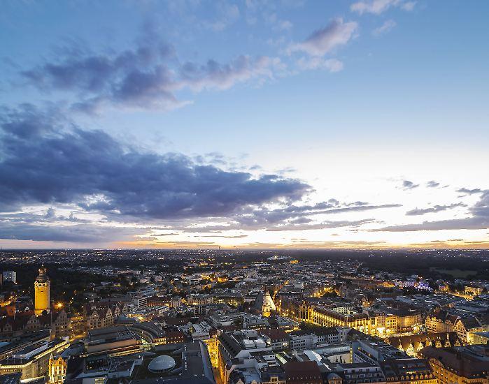 Nein - es ist nicht Hamburg, München oder Berlin: Leipzig ist bei den deutschen Städten über 500.000 Einwohner zur attraktivsten Innenstadt gewählt worden.