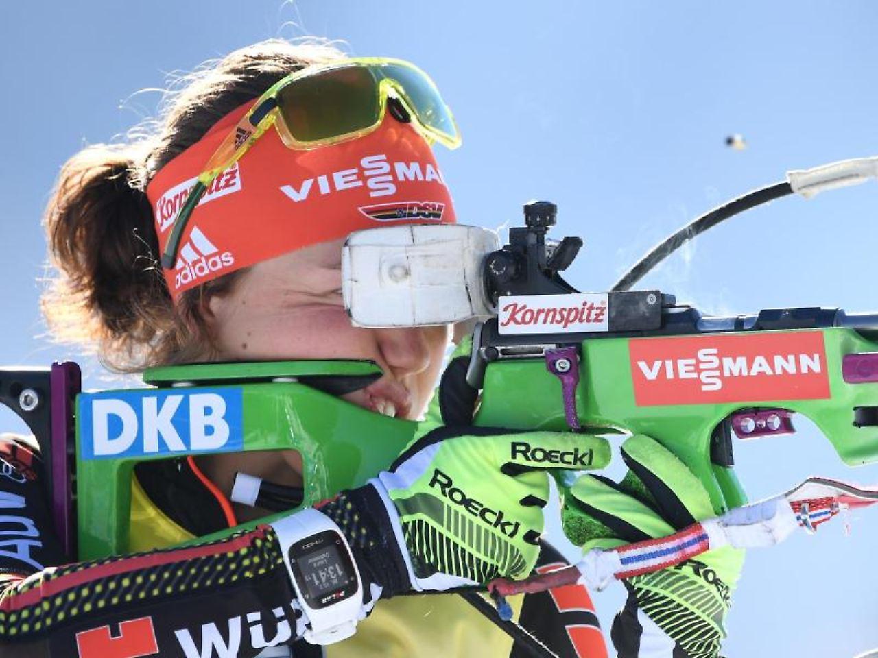 Biathletin Laura Dahlmeier erneut Favoritin auf Sieg