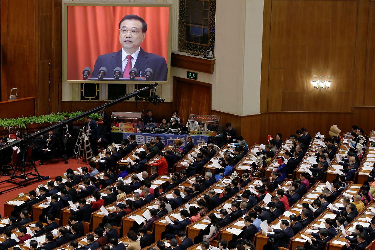 China will Militärausgaben um sieben Prozent steigern