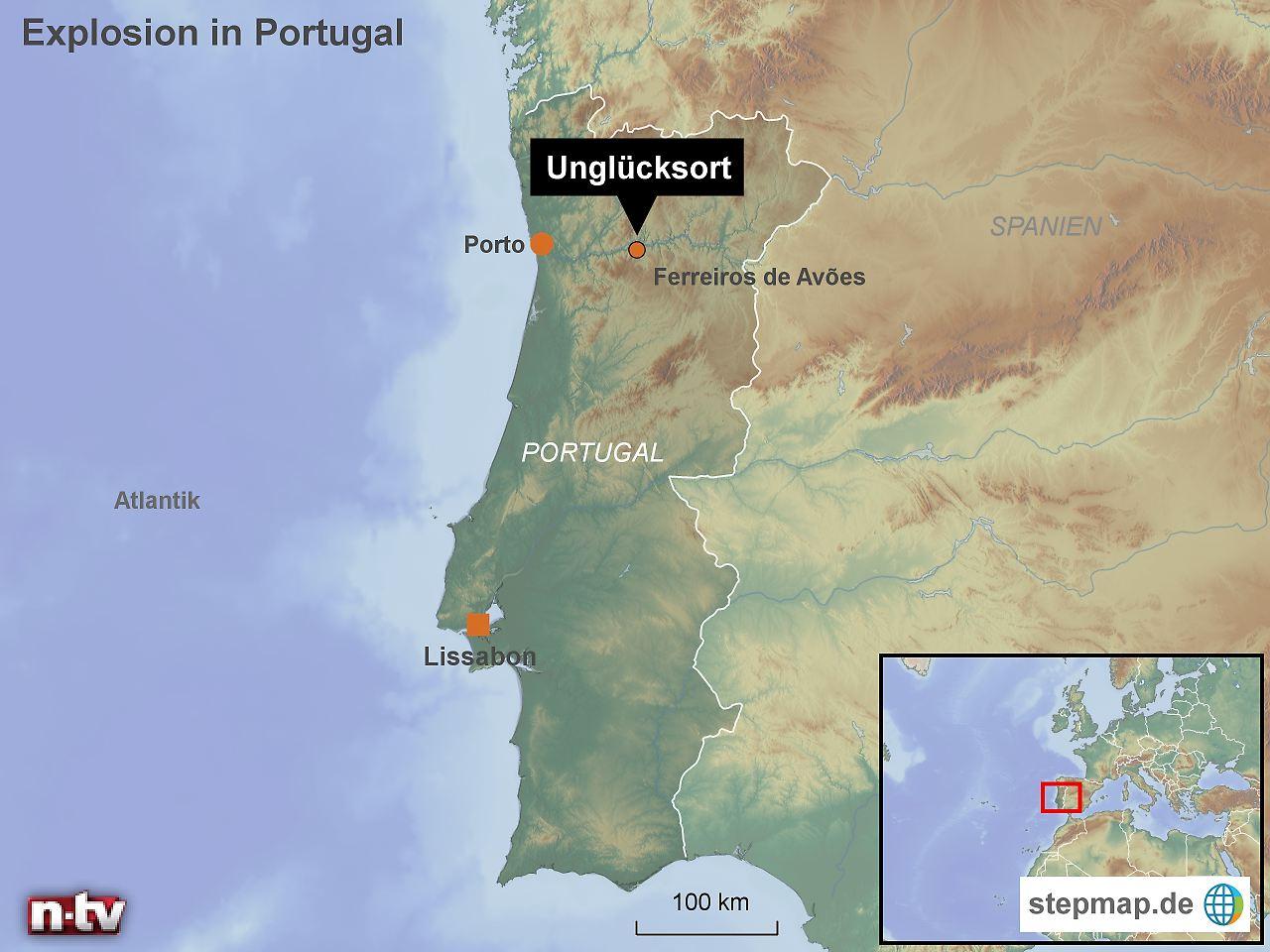 Explosionen in Feuerwerksfabrik in Portugal - Mindestens fünf Tote