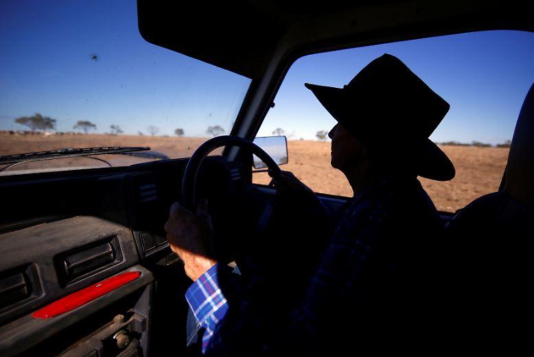 Ihre Familie bewirtschaftet dieses Land in der nordwestlichen Ecke des Staates New South Wales ...
