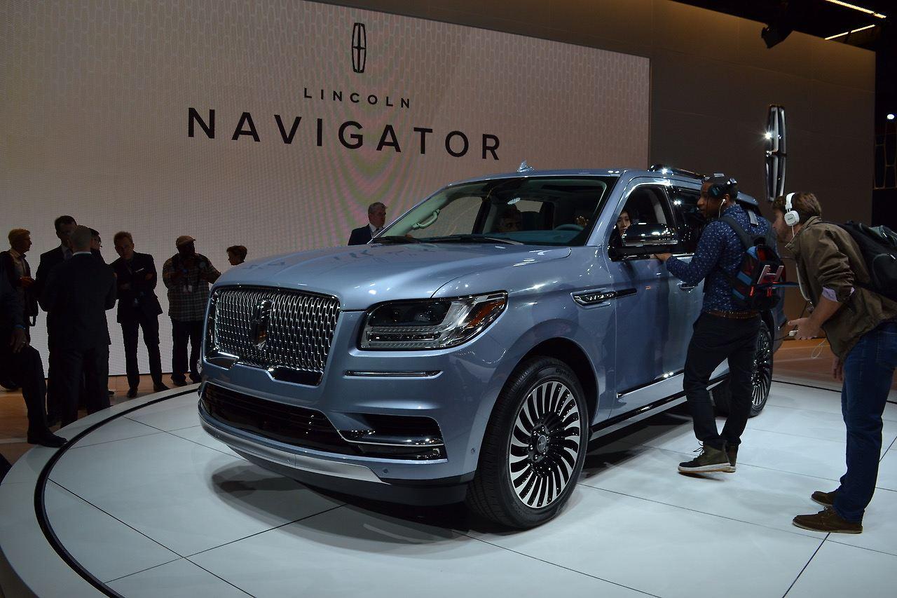 Der Neue Lincoln Navigator, Nach 12 Jahren Laufzeit Jetzt Ein Echtes Luxus  SUV.