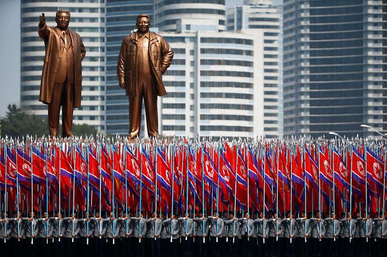 In Diktaturen gibt es eben immer etwas zu feiern, sofern es den Machthabern nutzt. (mit AFP)