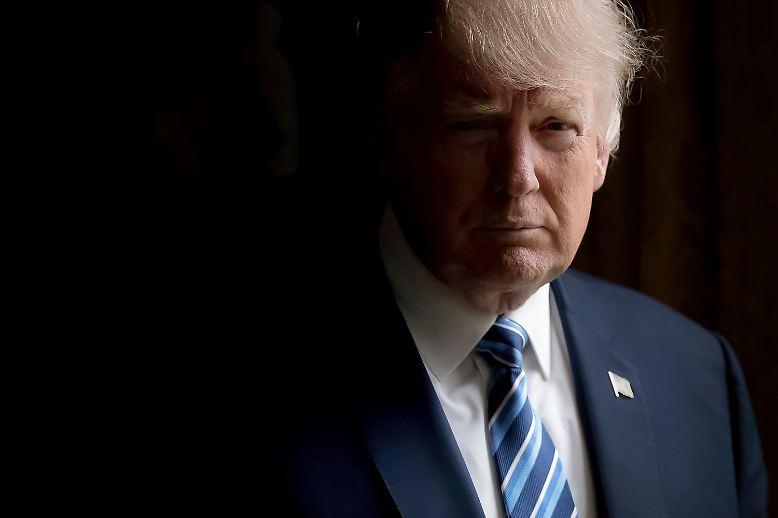 ... Donald Trump. Am 29. April ist er 100 Tage im Amt.