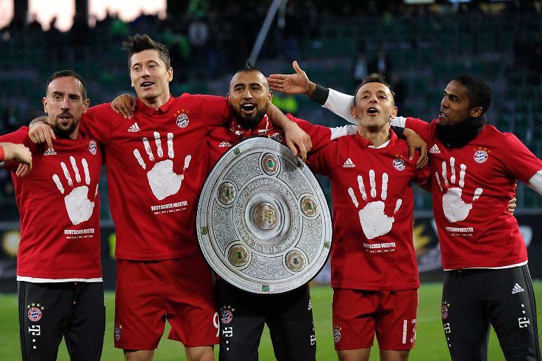 Der FC Bayern ist deutscher Fußballmeister - wieder einmal.