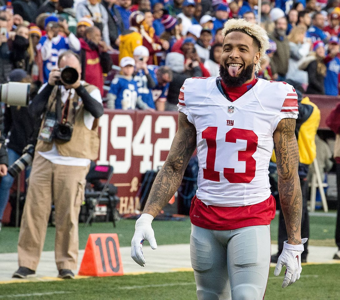 Odell Beckham Jr Football jerseys, tees, and more are at the Official Online Store of the NFL. Find the latest in Odell Beckham Jr merchandise and memorabilia, or check out the rest of our NFL Football gear for the whole family.