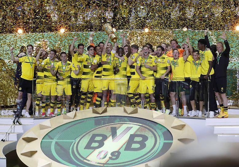 Der Pokal-Albtraum hat für Borussia Dortmund ein Ende …