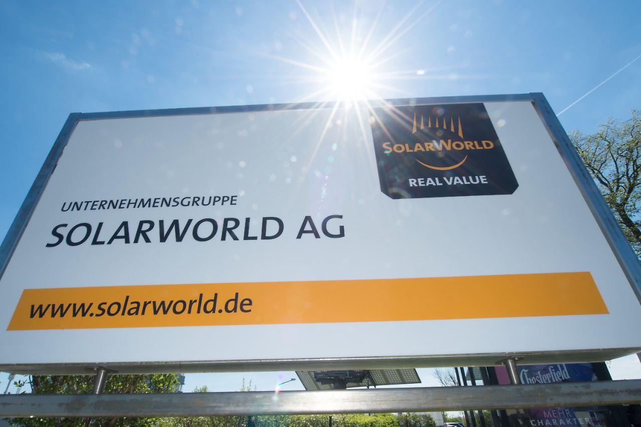Solarworld Kurs