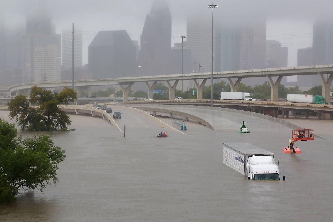 einzelne Männer in Houston