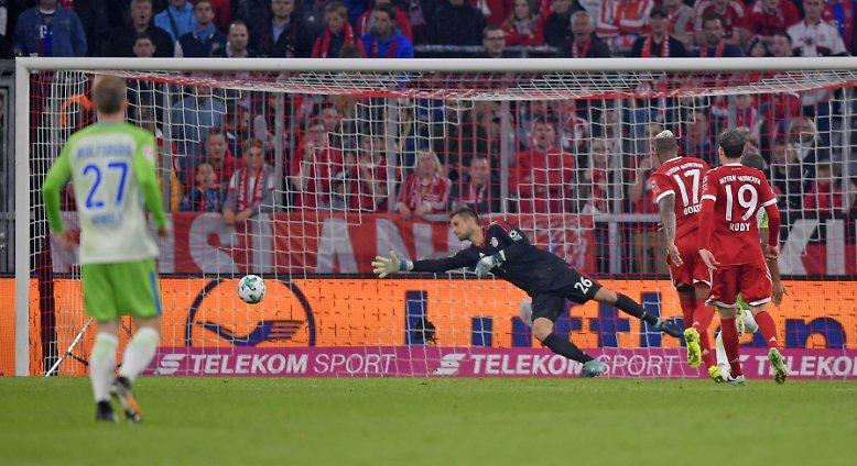 FC Bayern - VfL Wolfsburg 2:2 (2:0)