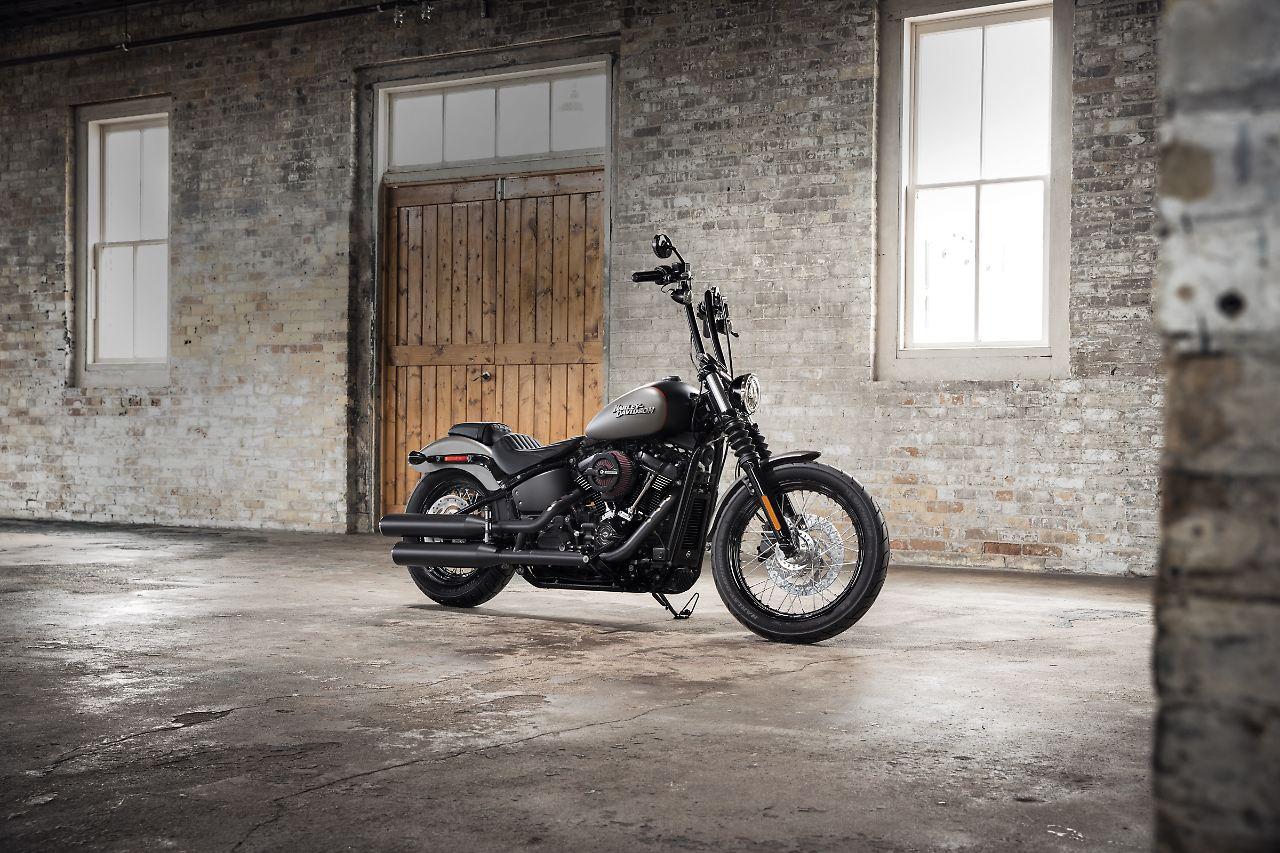 Mehr Leistung, mehr Schub: Neue Harley Street Bob als Einstiegsdroge ...