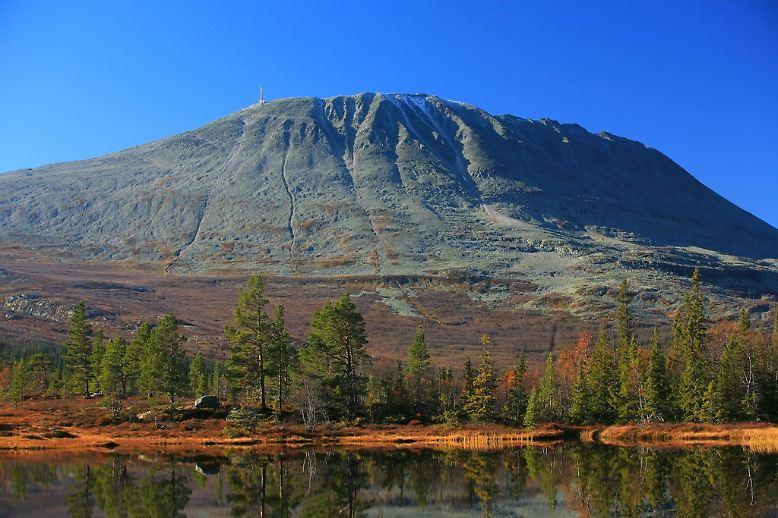 Der Gaustatoppen ist 1883 Meter hoch und wird von vielen als der schönste Berg des Landes bezeichnet.