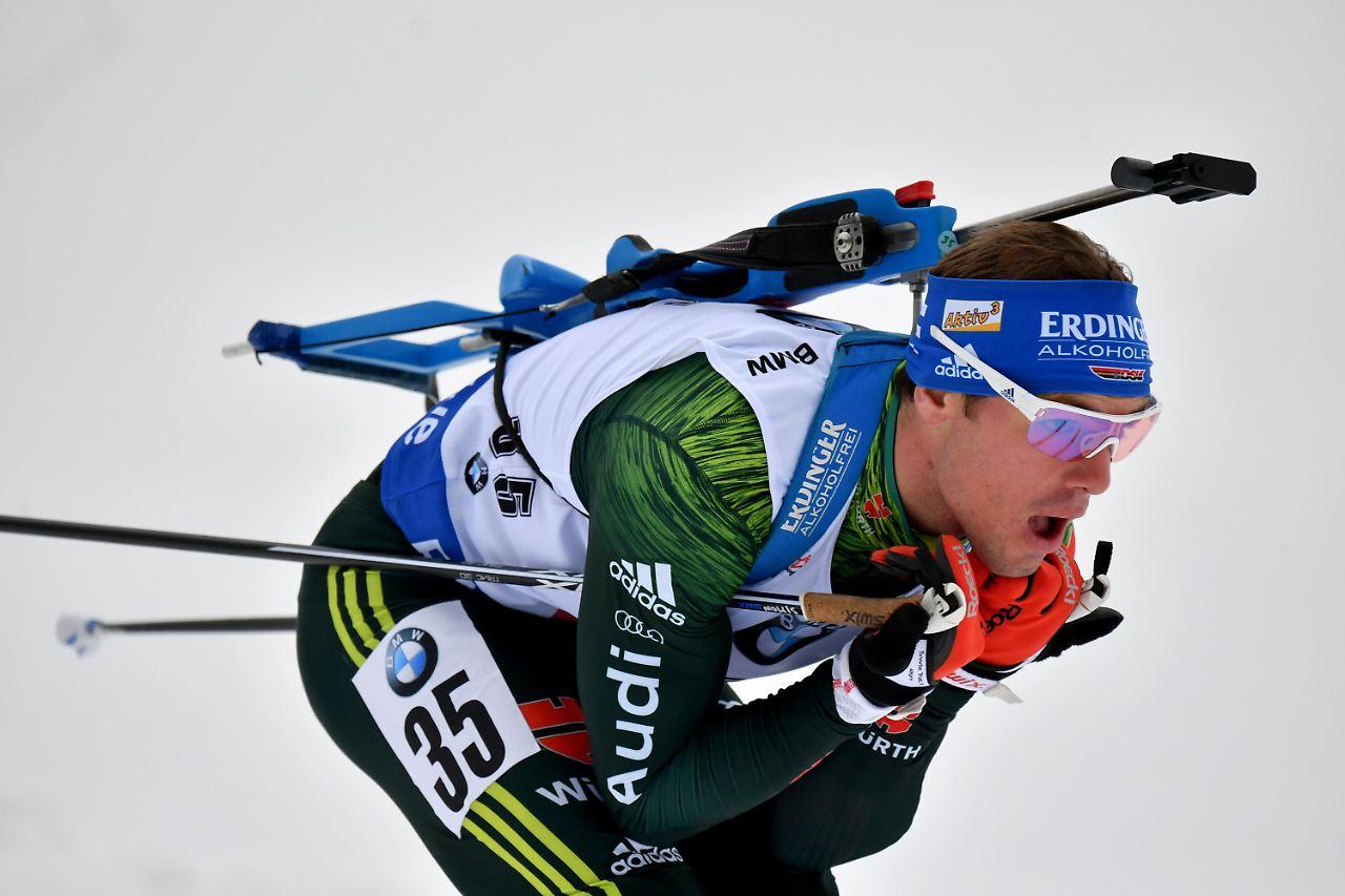 Biathlon: Schempp erneut knapp am Podium vorbei