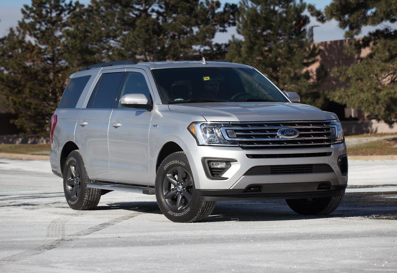 Mit  Meter Ist Der Ford Expedition Schon Ein Gewaltiger Geselle