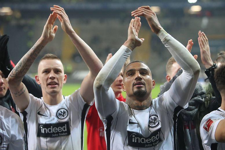 Eintracht Frankfurt - Borussia Mönchengladbach 2:0 (1:0)