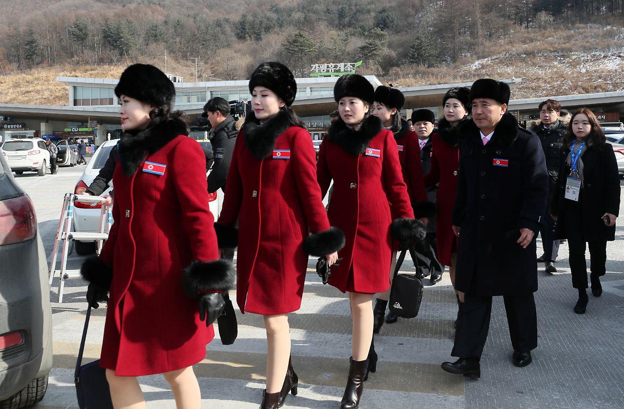 Cheerleader Nordkorea