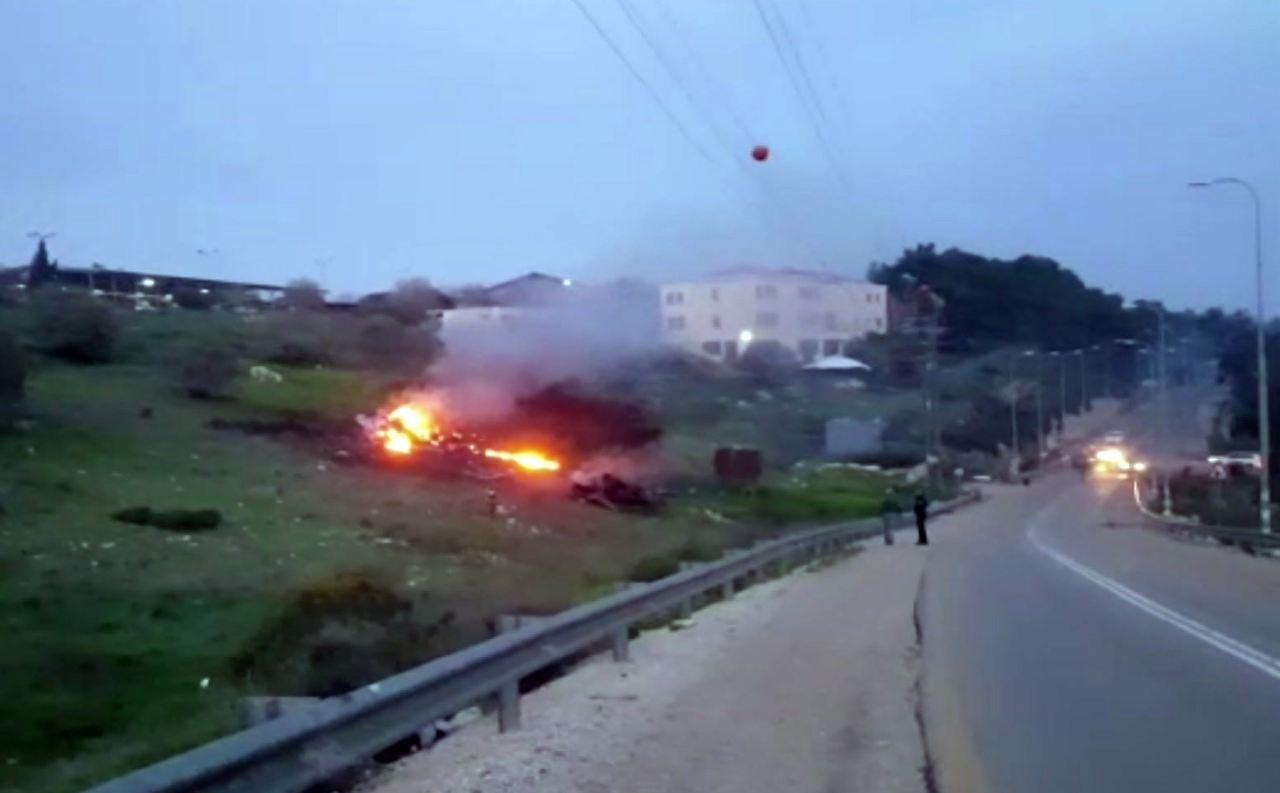 Israelischer Kampfjet nach Einsatz in Syrien abgestürzt