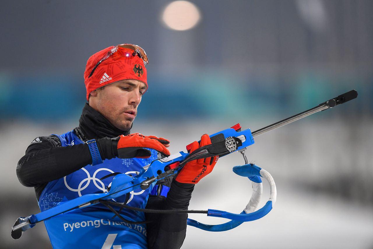 Deutsche Biathlon-Staffel holt Bronze - Sieg für Schweden