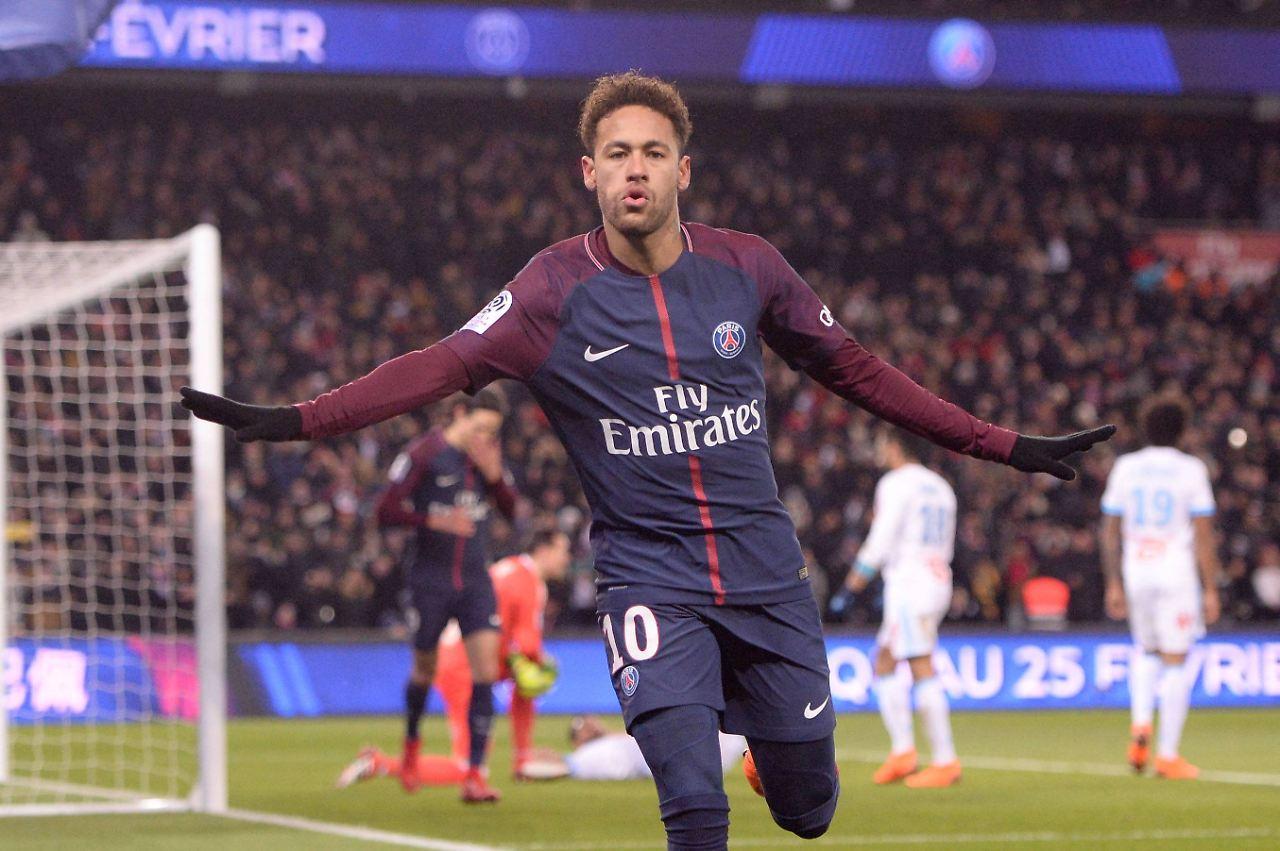 Neymar laboriert aktuell an einer Knöchelverletzung