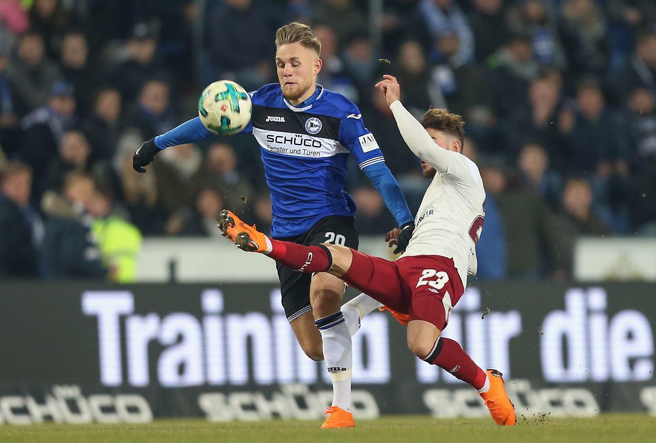 Bielefeld verpasst Nürnberg den späten Ko