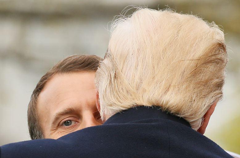 Emmanuel Macron ist zu Besuch in Washington und hat mit US-Präsident Donald Trump einiges zu besprechen.