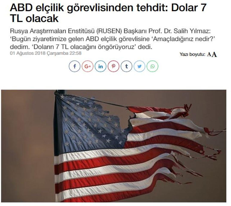 US-Strafzölle gegen die Türkei verdoppelt
