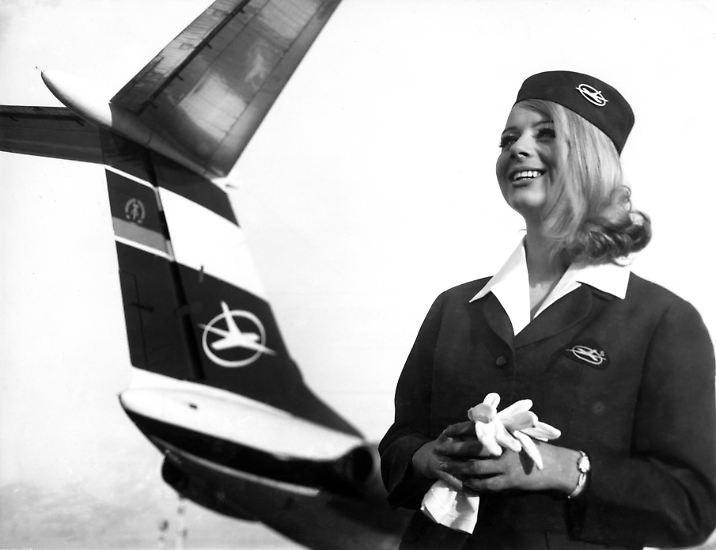 Gegründet 1958, geschlossen 1991 und acht Jahre lang als Deutsche Lufthansa geflogen: Die Interflug, wie sich die Fluggesellschaft der DDR später nannte, ... (Bild von 1969)