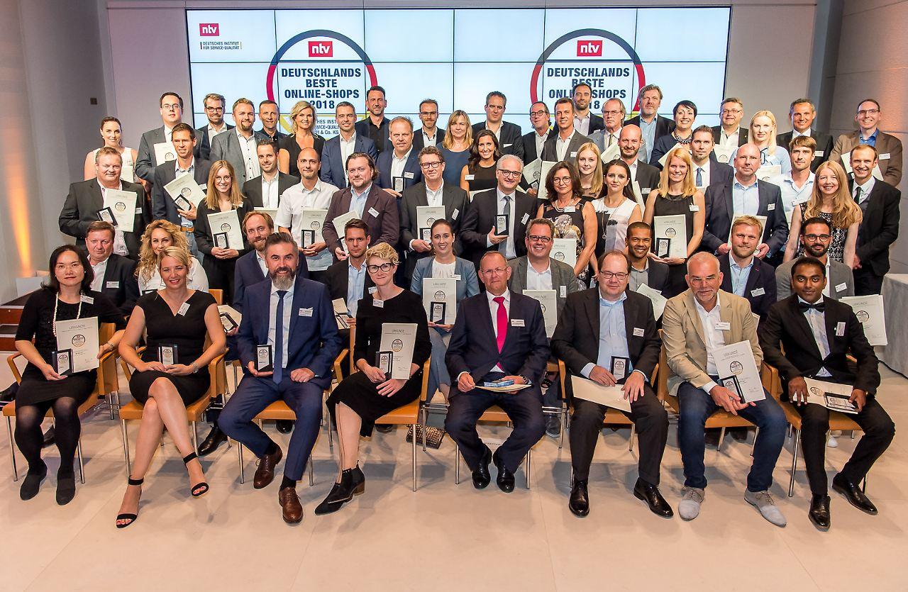Top-Anbieter gesucht: Deutschlands beste Online-Shops 2018 - n-tv.de