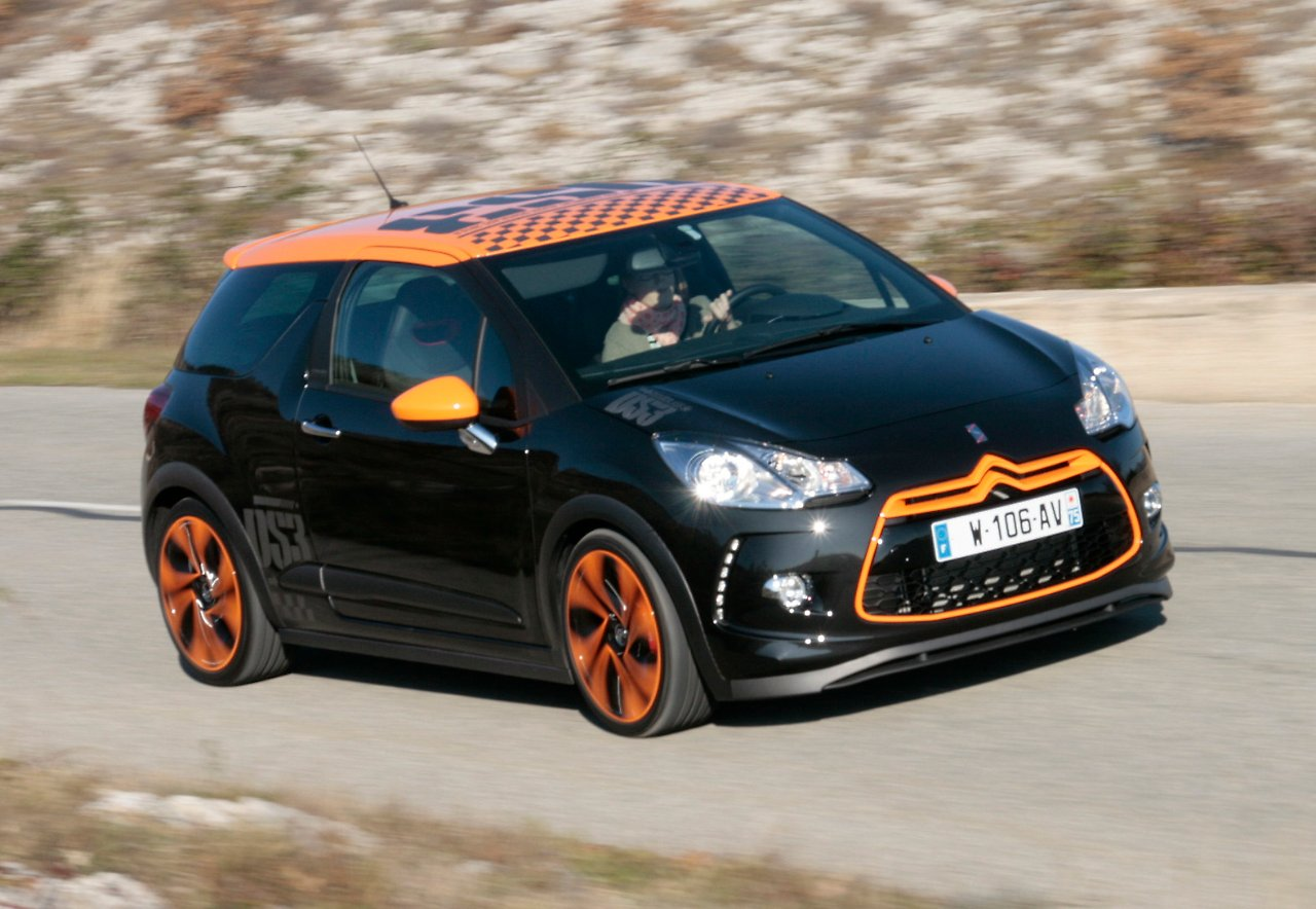 207 ps im citroen ds3 racing angriff auf die schnellsten minis n. Black Bedroom Furniture Sets. Home Design Ideas
