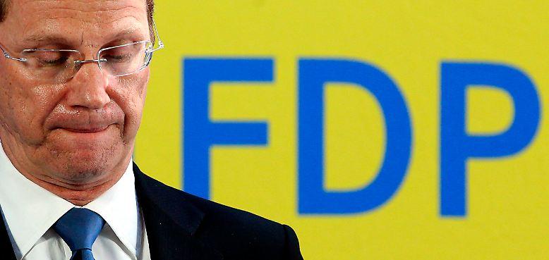 Die FDP blickt auf ein miserables Jahr zurück - und 2011 beginnt für die Liberalen nicht besser.