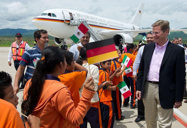 Deutschlands Außenminister Guido Westerwelle weilte kürzlich in Mexiko. Ein Staatsbesuch.