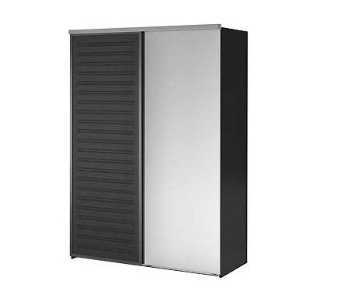 spiegel kann sich l sen ikea ruft schrankt ren zur ck n. Black Bedroom Furniture Sets. Home Design Ideas