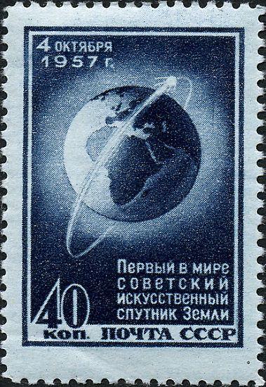 """Am 4. Oktober 1957 staunt die Welt: Die Sowjetunion schickt den ersten künstlichen Satelliten """"Sputnik"""" ins All. Den Westen versetzt dieses Zeichen der technologischen Überlegenheit in Unruhe. Vom """"Sputnik-Schock"""" ist die Rede."""