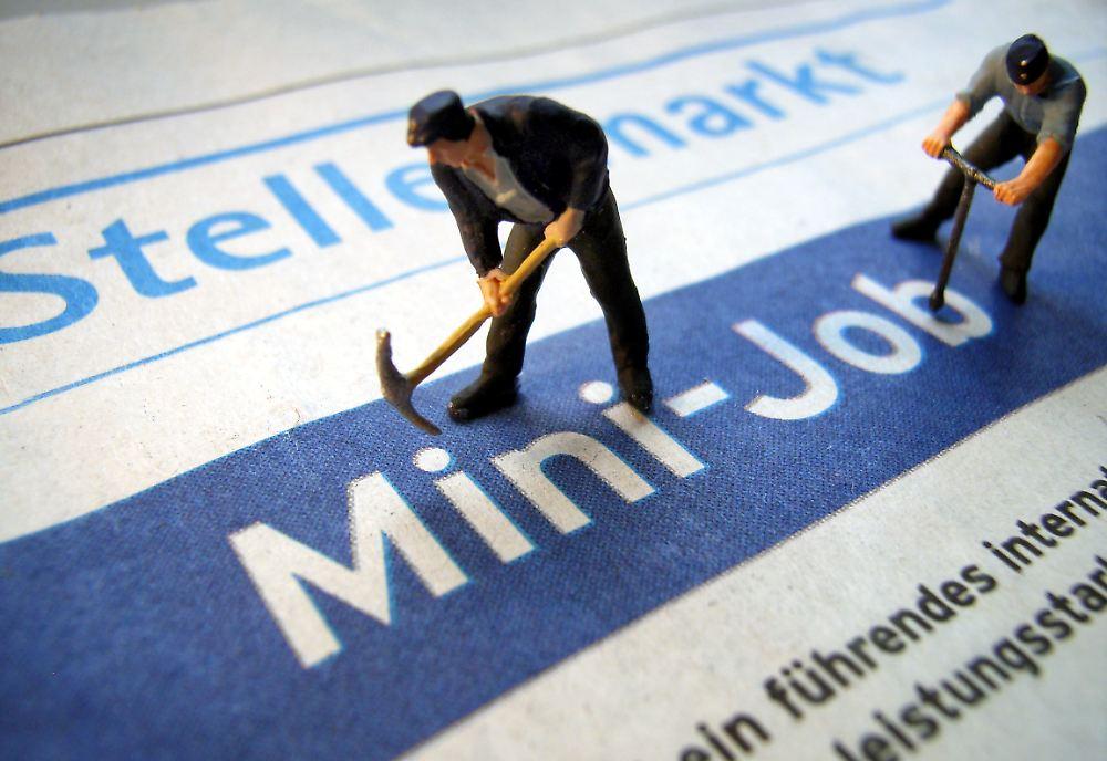 mini jobs bis 450 euro arbeitslose d rfen mehr behalten n. Black Bedroom Furniture Sets. Home Design Ideas