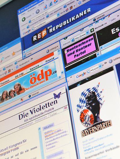 Nicht einmal fünf Prozent haben die Kleinstparteien bei der Bundestagswahl 2005 auf sich vereinen können. Doch auch in diesem Jahr hoffen wieder mehr als 20 von ihnen auf ein politisches Wunder - oder zumindest auf Geld aus dem Staatstopf. Ab einem Ergebnis von 0,5 Prozent erhalten sie immerhin 85 Cent pro Stimme.