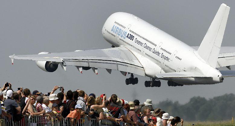 Startgeschwindigkeit A380