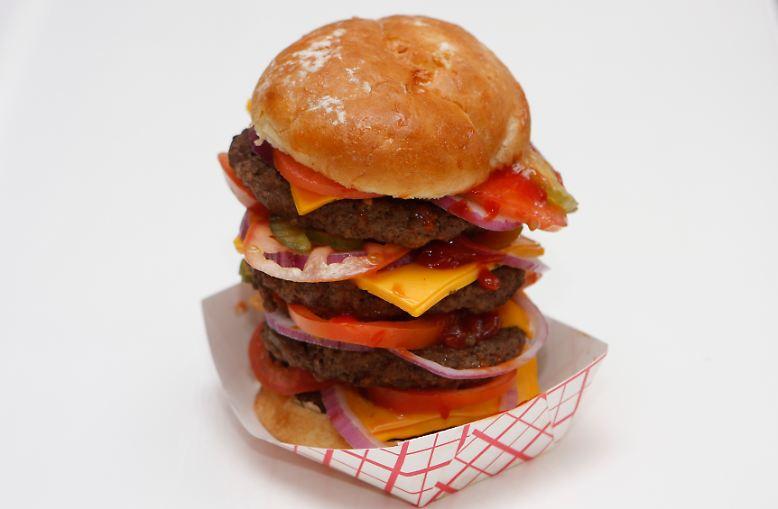 Ob saftiger Rindfleisch-Burger, ...