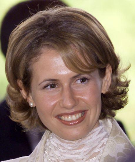 """Die 36 Jahre alte Asma al-Assad ist die syrische """"First Lady"""". Ähnlich wie ..."""