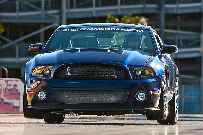 Ford Tuner Shelby American Prasentiert Auf Der New York Auto Show 2012 Einen Bis Zu