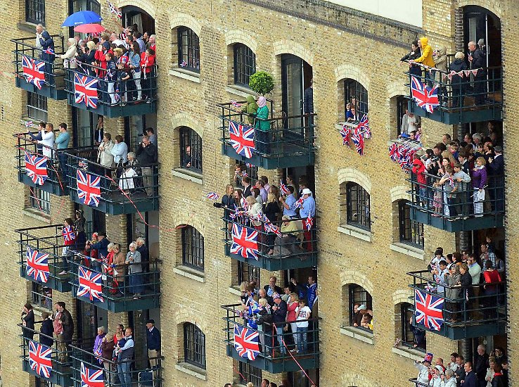Großbritannien ist ganz aus dem Häuschen.