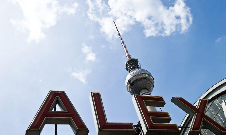 Der Alexanderplatz in Berlin -  von den Einheimischen me