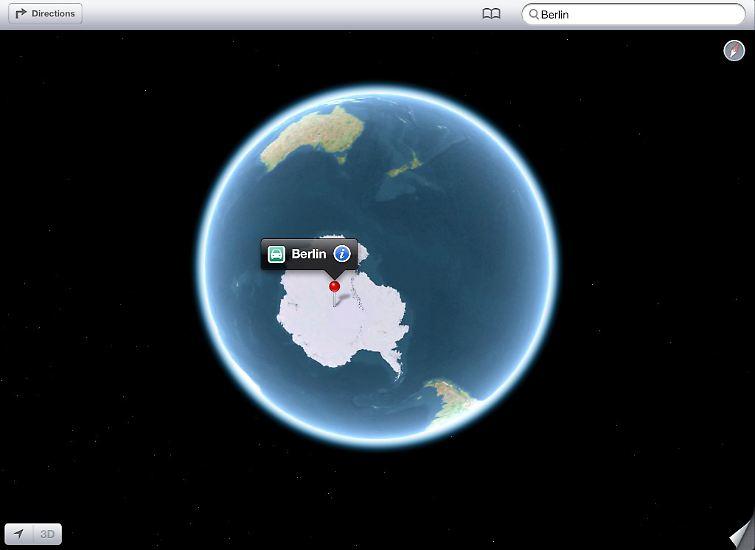 Berlin liegt in der Antarktis und …