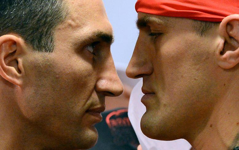 Mariusz Wach ist 2,02 Meter groß. Aber kann der Hüne auch sportlich überzeugen gegen Weltmeister Wladimir Klitschko?