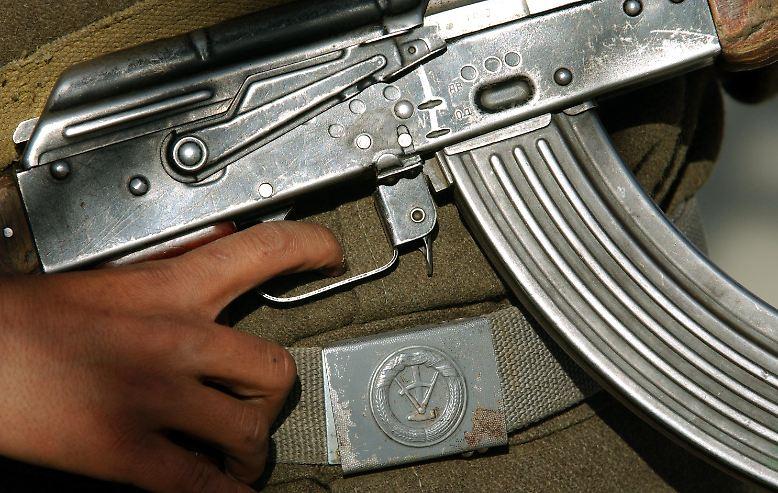 Praktisch, handlich und effektiv: Die AK-47 ist das meistgebaute Sturmgewehr der Welt.