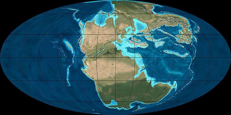 Es begann in der Trias-Periode vor gut 250 Millionen Jahren: Als es auf der Erde heiß und trocken war und die Landmassen noch dicht beieinander lagen, ...