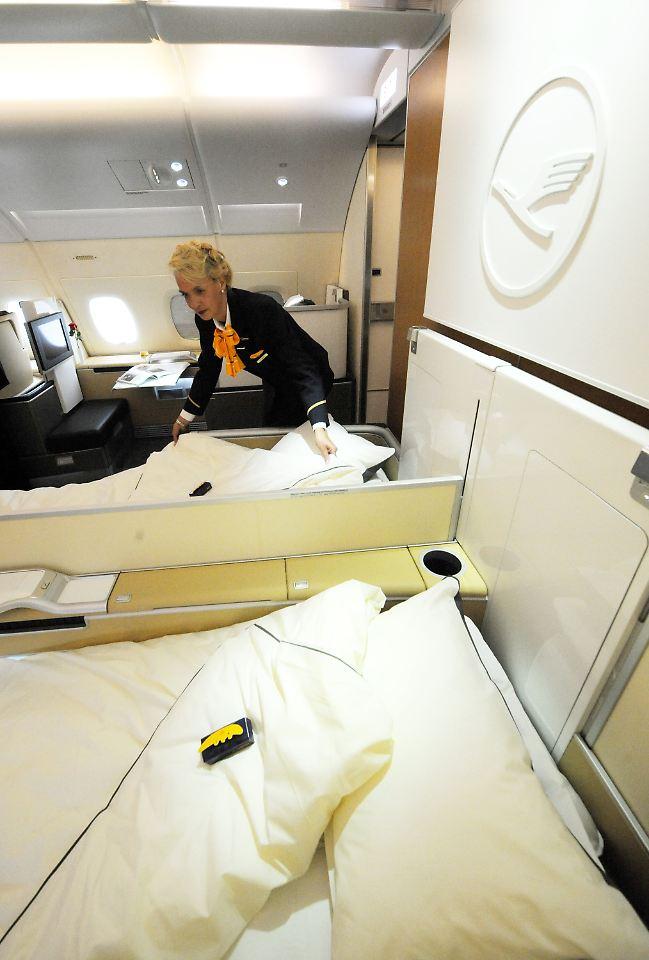 lufthansas neuer superflieger auch innen anders n. Black Bedroom Furniture Sets. Home Design Ideas
