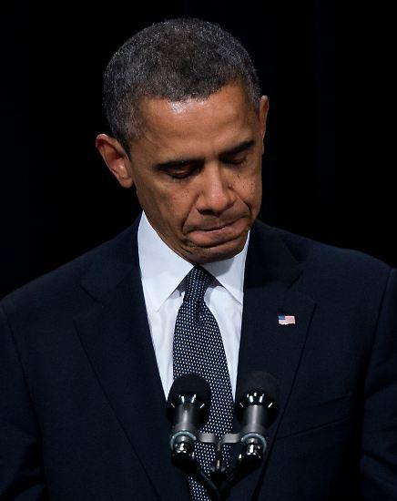 Obama, der vor seiner zweiten Amtszeit steht, spricht dabei nicht nur als Staatsoberhaupt, sondern auch als Vater.