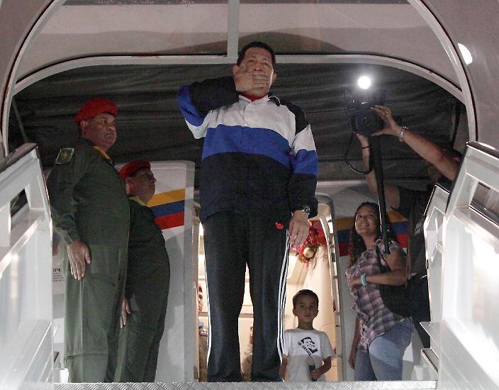 Der Kampf von Chávez ist zu Ende.