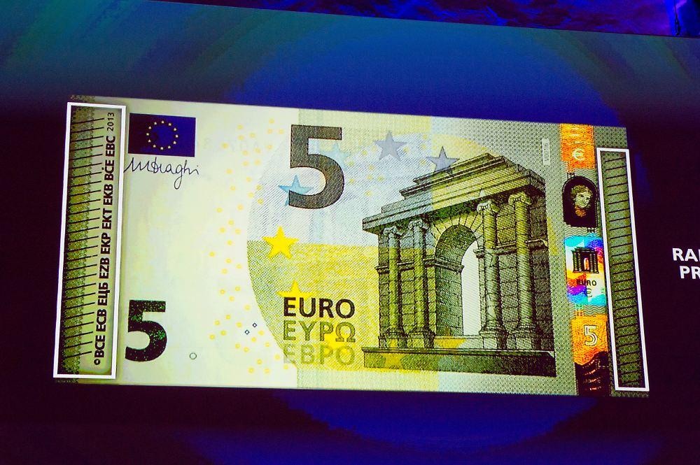 neuer fünf euro schein