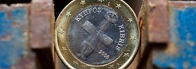 Zypern sorgt für neues Tief: Euro deutlich unter 1,29 Dollar